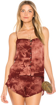Blue Life Mohave Button Front Cami in Brick. - size L (also in M,S,XS)