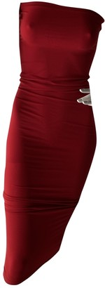 Wolford Red Synthetic Dresses