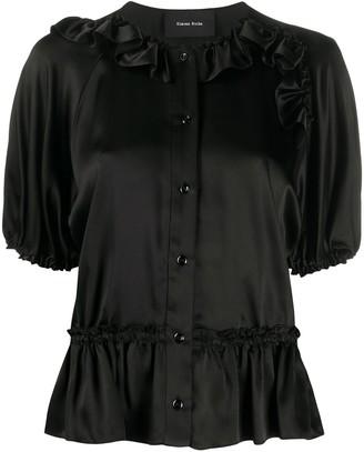 Simone Rocha Ruffle Trimming Shirt