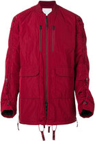 White Mountaineering long sleeved padded jacket