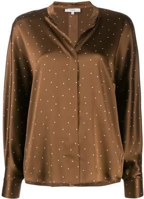 Vince polka-dot blouse