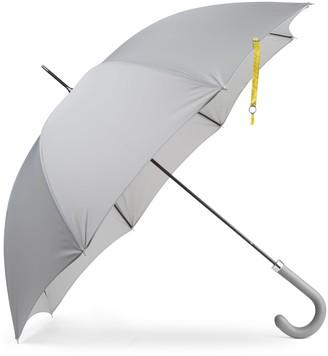 Heating & Plumbing London British City Slim Umbrella Grey & Yellow