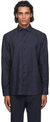 Etro Navy Paisley Shirt