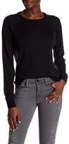 Zadig & Voltaire Crisp Contrast Seam Wool Sweater