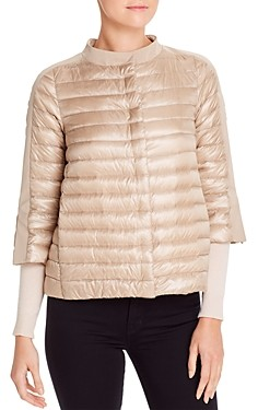Herno Cropped Down Puffer Jacket