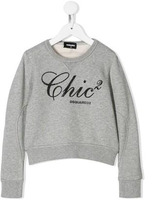 DSQUARED2 embellished Chic sweatshirt