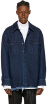 Marques Almeida Indigo Denim Shirt