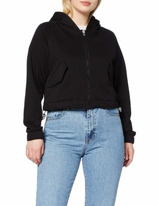 Urban Classics Women's Zip Hoody Ladies Short Worker Kapuzenpullover Hooded Sweatshirt