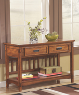 Signature Design by Ashley Cross Island Console Table