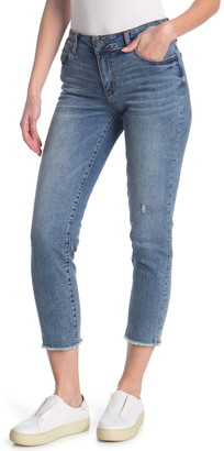 KUT from the Kloth Catherine Ankle Straight Leg Jeans