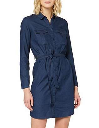 Pimkie Women's Rbw19 Noeli Denim Dress,8 (Size: )