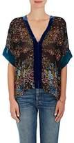 Warm Women's Patti Floral Chiffon Top