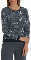 Betty Barclay Tapestry Jumper, Dark Blue/Petrol