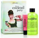 philosophy The cocktail Party set- Senorita Nargarita shower gel and Melon Daiquiri lipgloss by