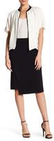 Lafayette 148 New York Sarah - Wave Double Cloth Asymmetrical Skirt