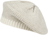 Accessorize Shimmer Thread Knitted Beret