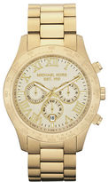 Michael Kors Mens Gold Chronograph Watch