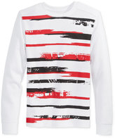 Epic Threads Boys' Long-Sleeve Graffiti Stripe Thermal Shirt, Only at Macy's