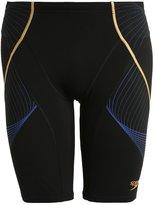 Speedo Pinnacle Swimming Shorts Black/deep Peri/global Gold