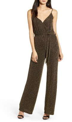 Cupcakes And Cashmere Florence Lurex Knit Jumpsuit