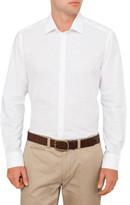 Sand Textured Slub Plain Shirt
