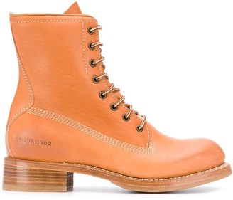 DSQUARED2 Lace-Up Chunky Boots