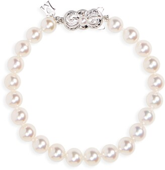 Mikimoto Every Essentials Cultured Pearl Bracelet