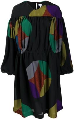 Loewe Geometric-Print Dress