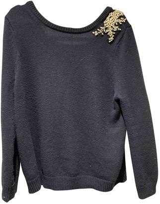 BA&SH Bash Fall Winter 2018 Blue Wool Knitwear
