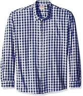 Wrangler Authentics Men's Big-Tall Long Sleeve Premium Gingham Shirt