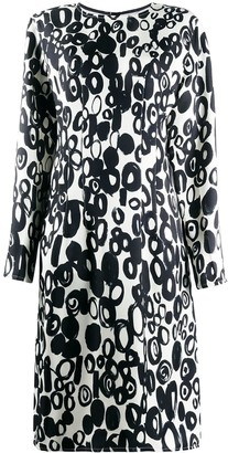 Marni Abstract Drops-Print Dress