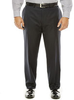 COLLECTION Collection by Michael Strahan Black Herringbone Suit Pants - Big & Tall