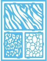 Americana Safari Self-Adhesive Stencil