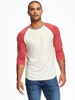 Old Navy Slub-Knit Baseball Tee for Men