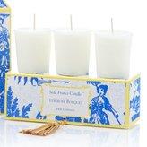 Seda France Votive Candle Set - Tuberose Bouquet