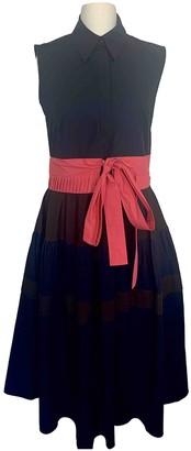 DELPOZO Navy Cotton Dress for Women