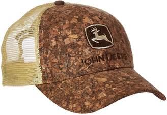 John Deere Embroidered Logo Tree Bark Baseball Hat - One-Size - Men's - Brown