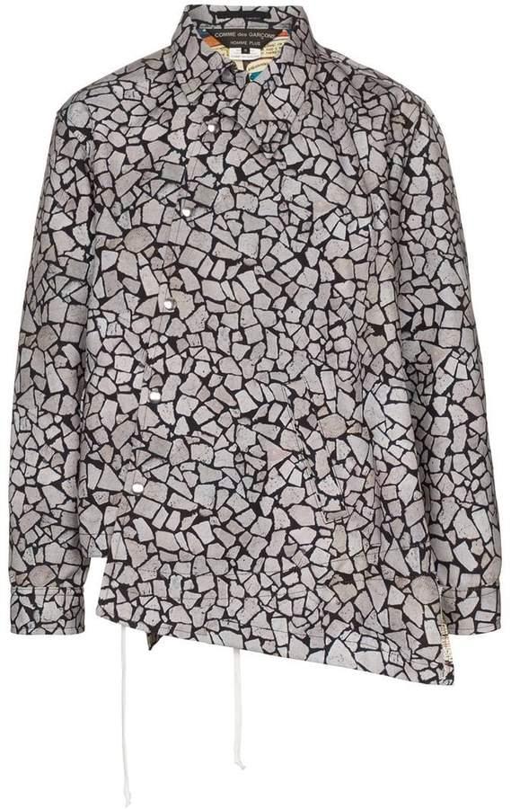 Comme des Garcons asymmetric shirt jacket