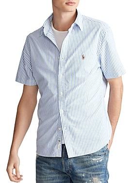 Polo Ralph Lauren Classic Fit Button-Down Short-Sleeve Oxford Shirt
