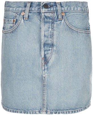 Wardrobe NYC Release 04 mini denim skirt