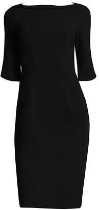 Black Halo Nuelle Sheath Dress