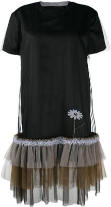 Viktor & Rolf Pretty Wallflower tulle-trimmed dress