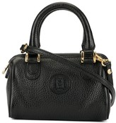 Fendi Pre Owned mini logo patch 2way bag