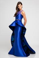 Terani Couture 1723E4303 Peplum Shine Sensation Evening Gown