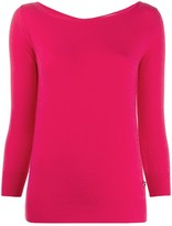 Emilio Pucci boat neck knitted top