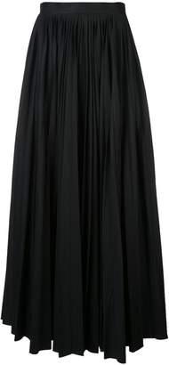 KHAITE long pleated skirt