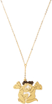 Loewe Faeries gold-plated necklace
