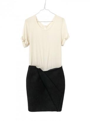 Jay Ahr Beige Wool Dress for Women