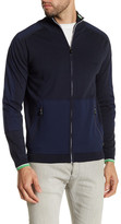 HUGO BOSS Zaud Ribbed Knit Jacket