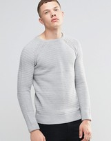 Brave Soul Textured Knit Sweater